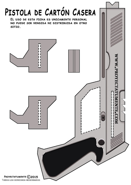 Lado izquierdo de la pistola