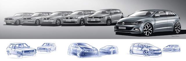 VW Polo - gerações