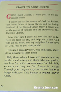 Saint Joseph, Prayer