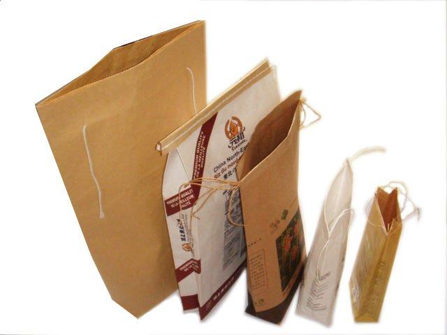 in túi giấy đựng ngũ cốc