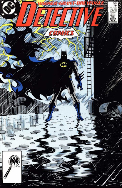 Detective Comics Issue #587 Cover Artwork by Norm Breyfogle x DC Comics