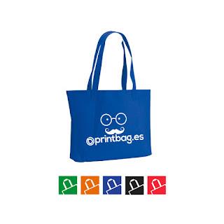 Bolsas de fieltro personalizadas azules