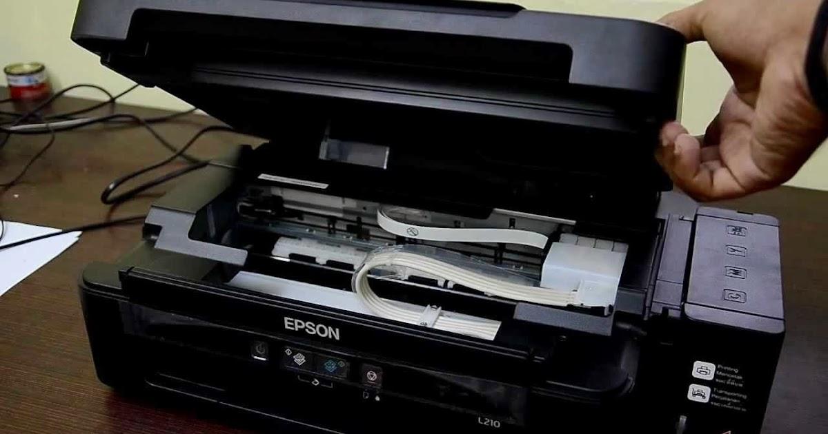 Como Hacer Mantenimiento A Impresoras Epson L210 Con