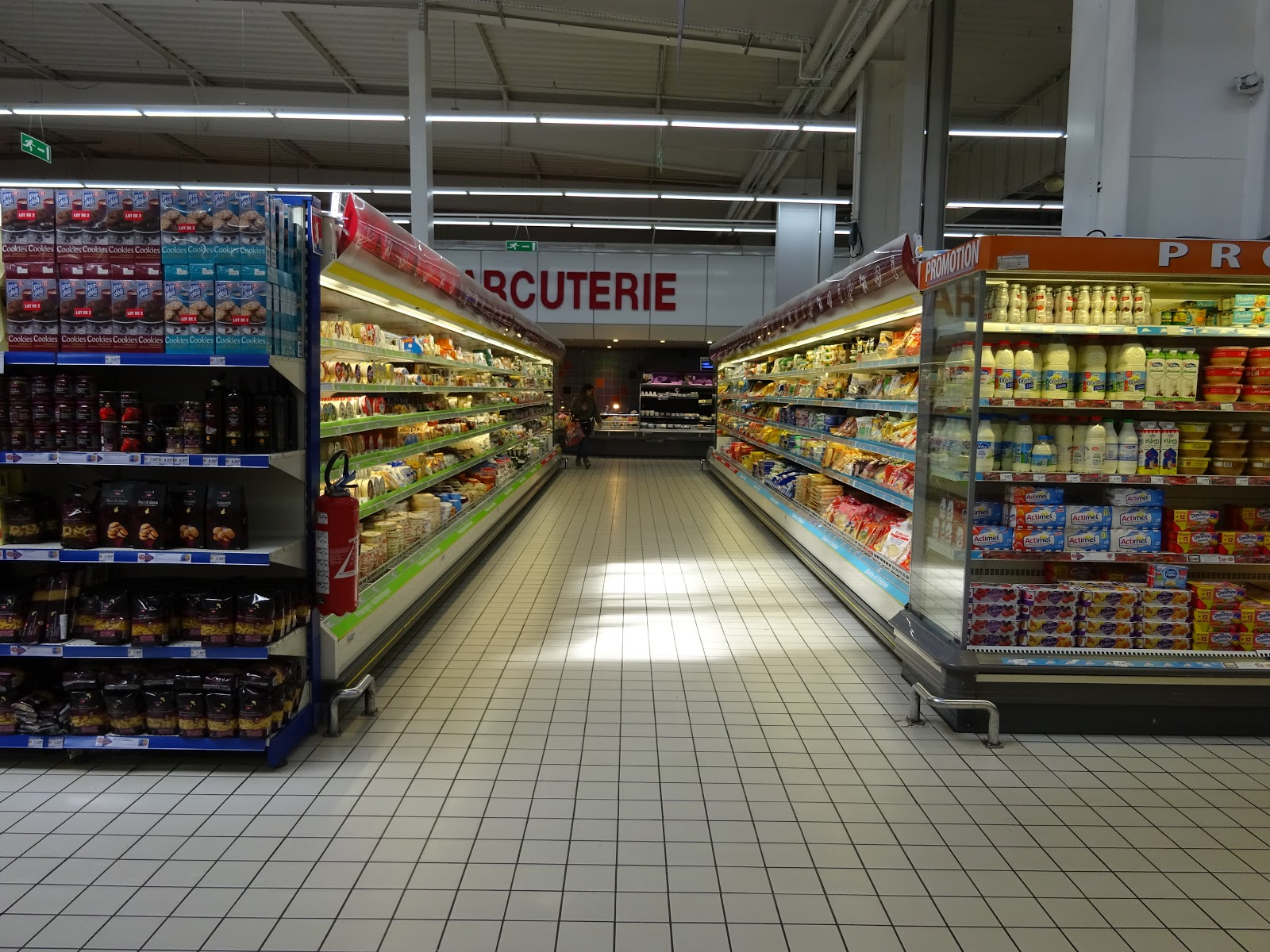 Completely Indie: The Cheese Aisle at a French Supermarket