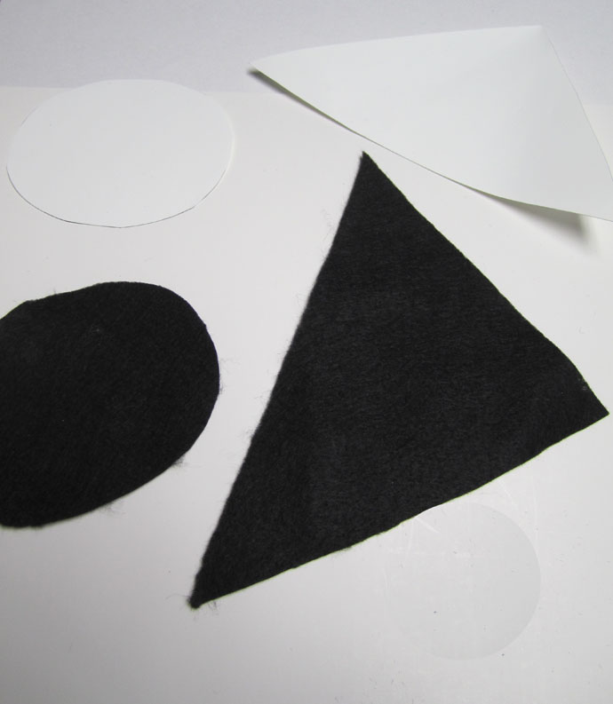 paper witch hat template - sarah ogren a felt witch hat tutorial