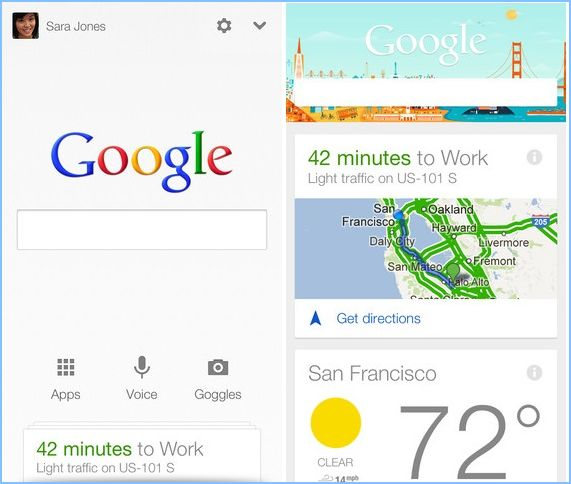 Google Now Available for iOS Devices with Google Search App