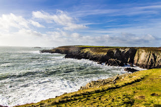 St Davids Pembrokeshire Coastal Path Wales