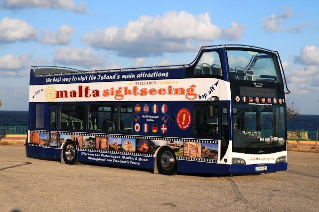 Autobus Malta Sightseeing