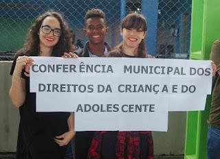 Enfrentamento de violências e diversidade foram temas abordados pelos jovens em Conferência Municipal, na Ilha