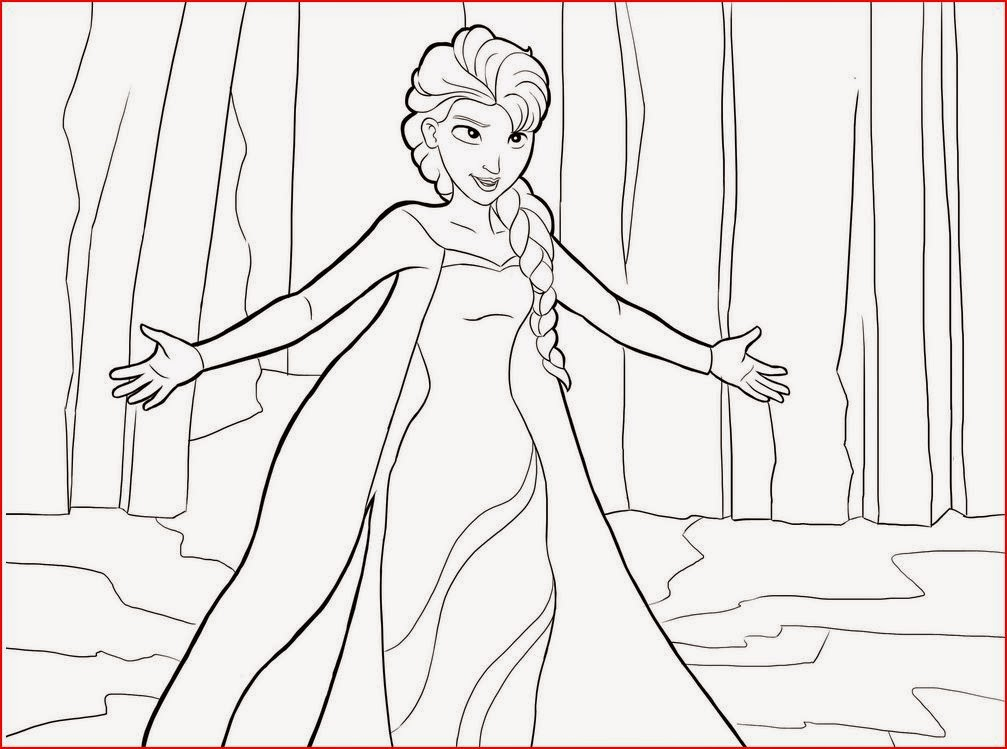 Coloring Pages: Elsa from Frozen Free Printable Coloring Pages