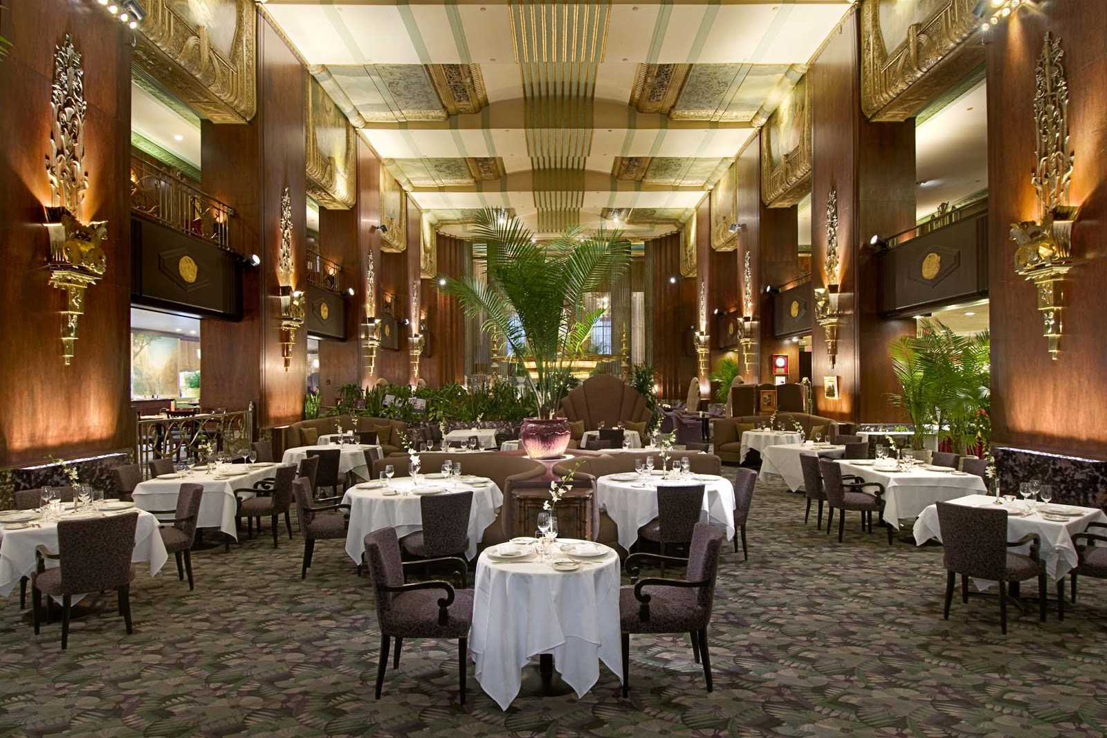 Orchids At Palm Court Hilton Cincinnati Netherland Plaza Named One Of Top 100 Restaurants