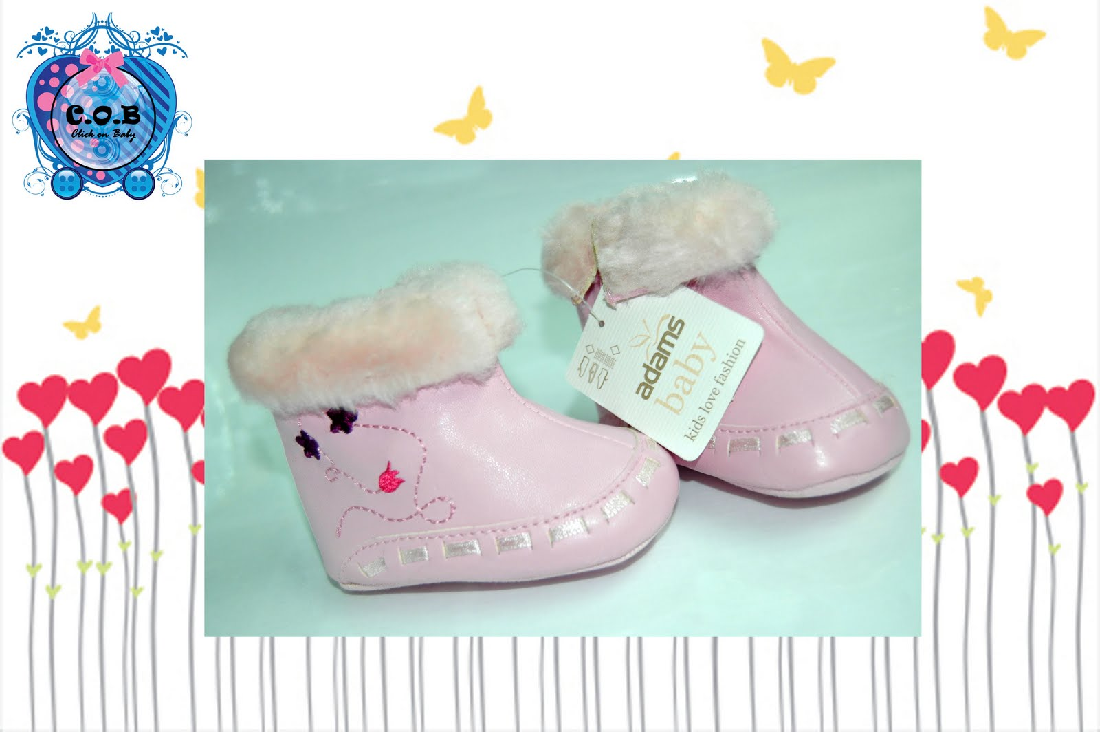 Click On Baby Prewalker Shoes