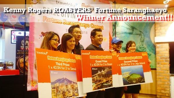 Kenny Rogers ROASTERS' Fortune Saranghaeyo Winner Announcement and Buka Puasa!!