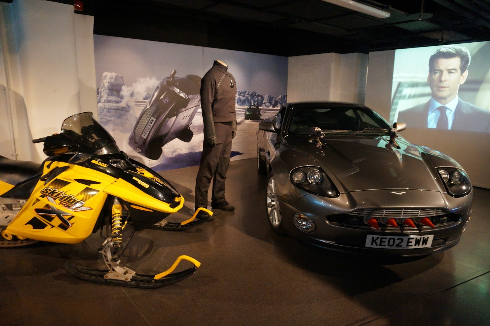 cars at James Bond Car Exhibition