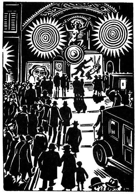 Frans Masereel entertainment