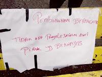 Viral…. Jenazah Ditaruh di Jalan Sebagai Bentuk Protes Atas Kinerja Polsek Lahusa Nias Selatan