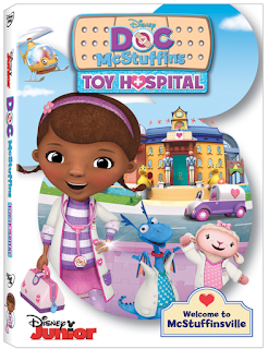 DVD Review - Doc McStuffins: Toy Hospital