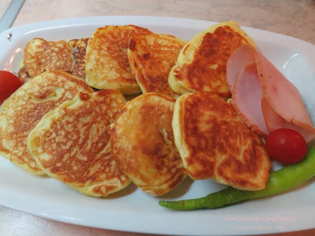 11 - Αφράτες και ελαφριές τηγανίτες γιαουρτιού για να φαγωθούν με τυριά, μέλι ή και μαρμελάδα