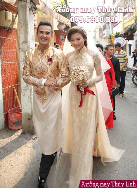 TOP 3 mẫu áo dài cưới cách tân được ưa chuộng nhất
