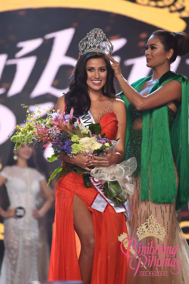 Rachel Peters crowned Miss Universe Philippines 2017