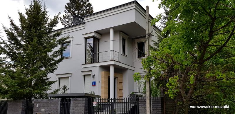Warszawa Warsaw Bielany Stare Bielany ulice Bielan Tani Dom Własny architektura