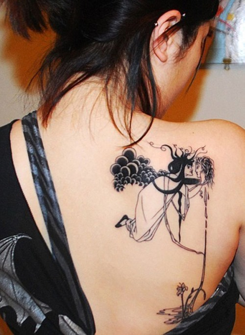 Tattoo Ideas On Back: Create MyTattoo: Several Ideas Of Back Tattoo For Women