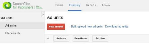 cara pasang iklan adsense hosted di website tld menggunakan dfp