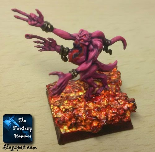 Pink Horror of Tzeentch WiP9
