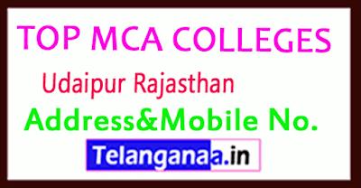 Top MCA Colleges in Udaipur Rajasthan