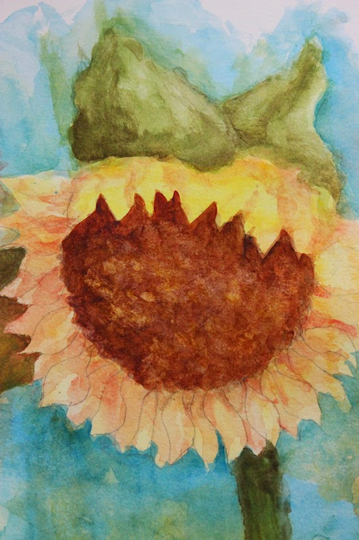 Sunflower for Day 2 by Tori Beveridge