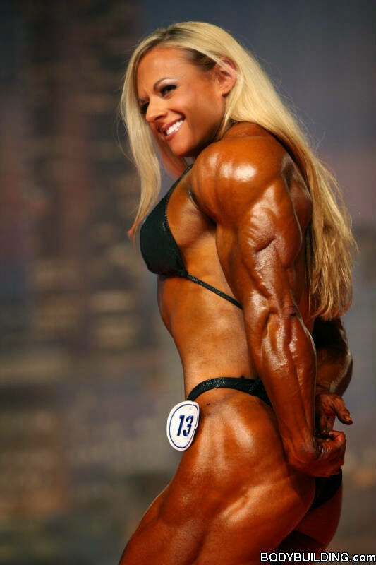 Female bodybuilder Kristy Hawkins - The Best Bodybuilding