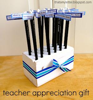 diy teacher appreciation gift idea