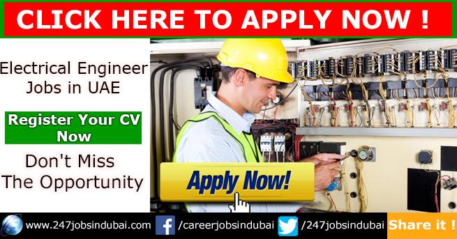 New Jobs Openings at Electrical Engineer in UAE