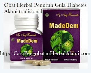 Agen Jual Obat Herbal Diabetes MADEDEM Khasiatnya Teruji & Terbukti