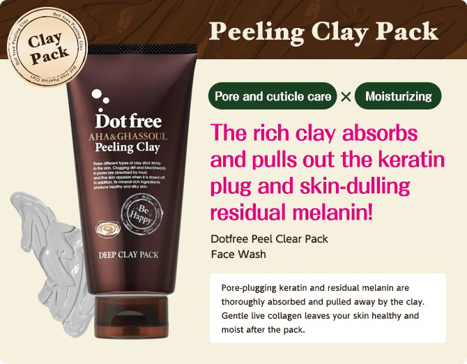 Dotfree AHA & GHASSOUL Peeling Clay