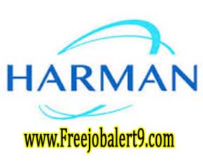 Harman Recruitment 2017 Jobs for Freshers Apply