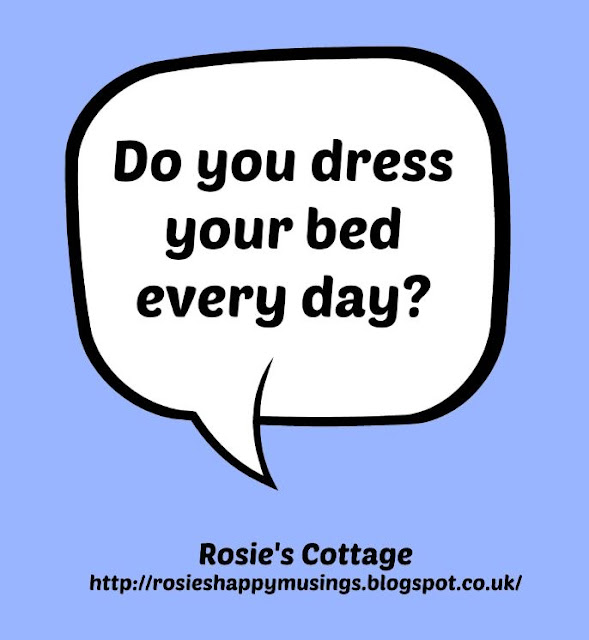 Do You Dress Your Bed Every Day