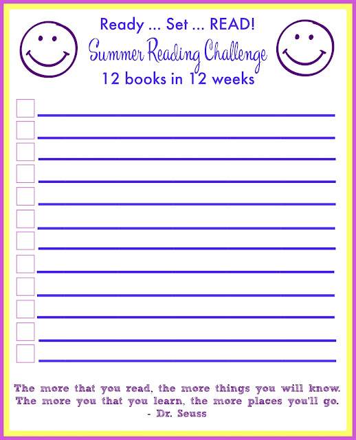 Sweet Turtle Soup: Summer Reading Challenge - Announcement!