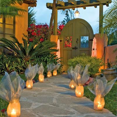 Luminarias para iluminar el Jardín