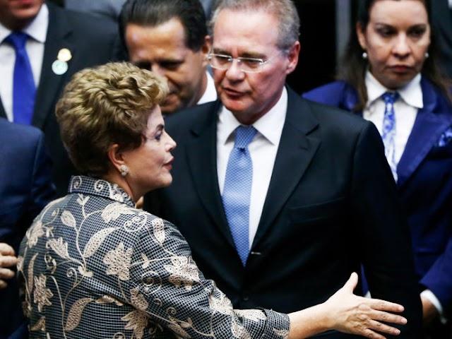 Senado não vai frear impeachment, prevê Renan