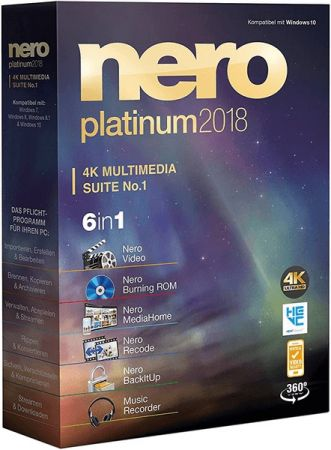 Download Nero Platinum 2018 Suite 19.0.102 Full Version