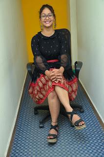Aditi Myakal From Ami Tumi Movie at BIG FM Event Stills