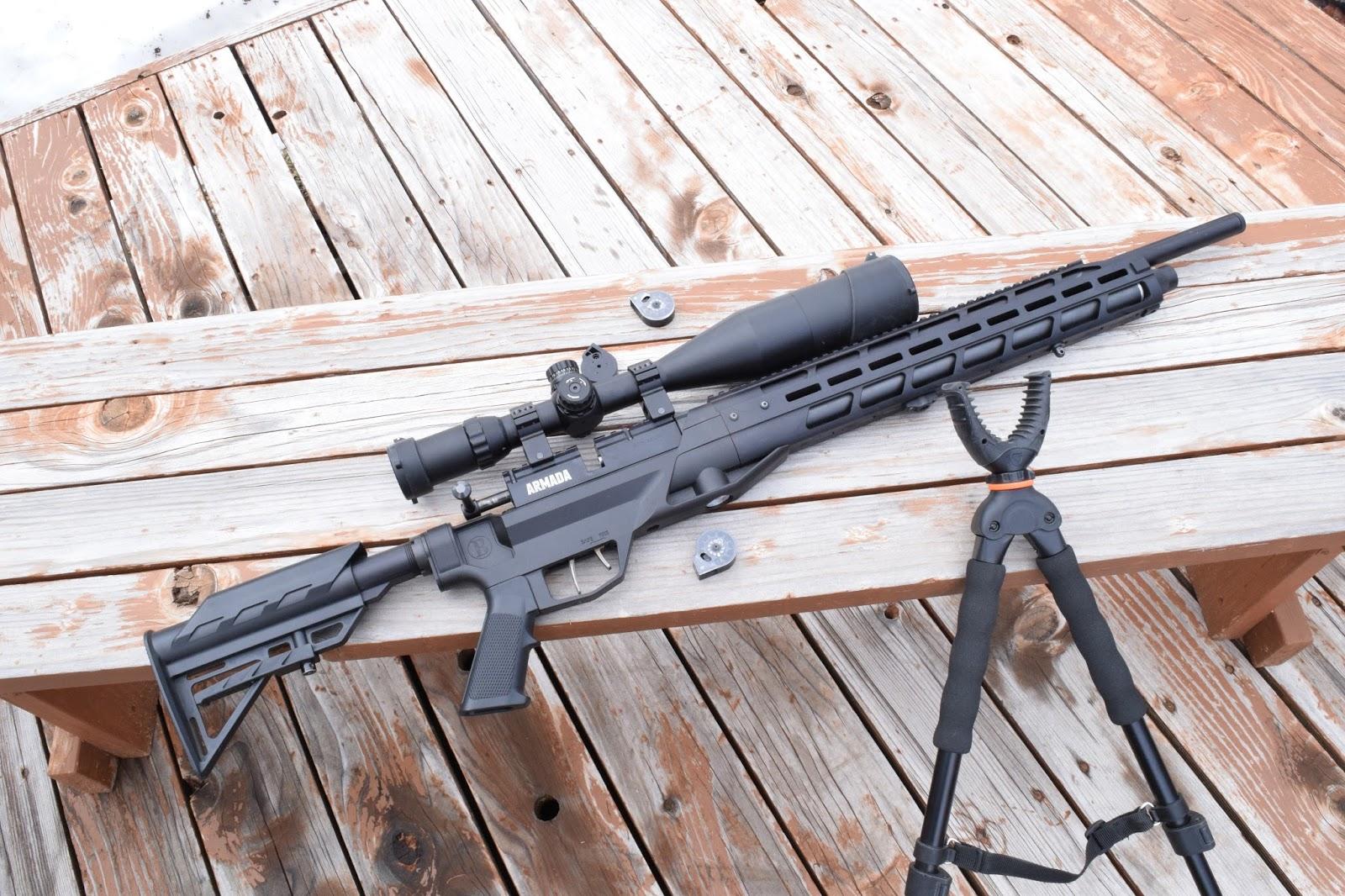 Blueflax Airguns: Why mod a marauder?
