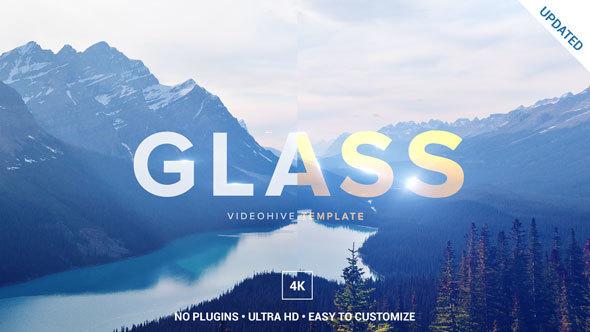 قالب افتر افكت مجاني - عرض لوجو زجاجي اكثر من رائع واحترافي للافتر افكت CS6 فأعلى