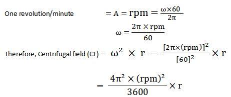 Biochemistry Class notes: Principle of centrifugation