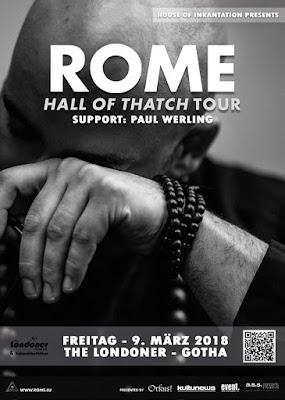 Flyer Paul Werling + Rome @ Gotha