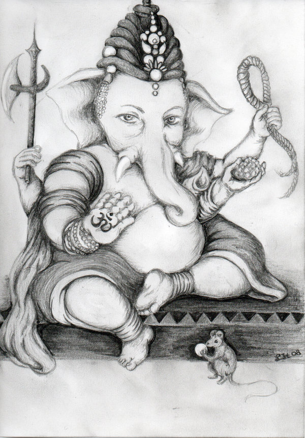 Here is a magnificent and beautiful collection of lord ganeshas pencil sketches art and drawings download the photos images drawings and hd wallpapers