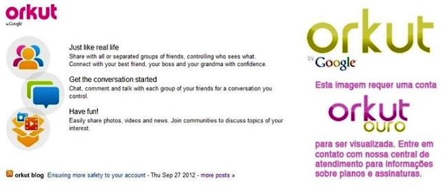 Orkut Exclusivo