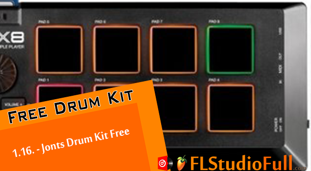 1.16. - Jonts Drum Kit Free para FL Studio