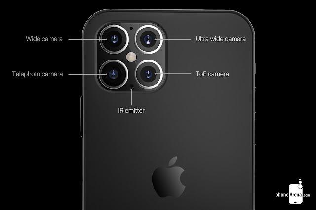 كاميرا ايفون 12 برو ماكس